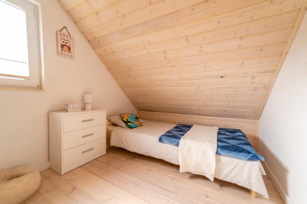 Domek Niebieski łóżko pojedyncze